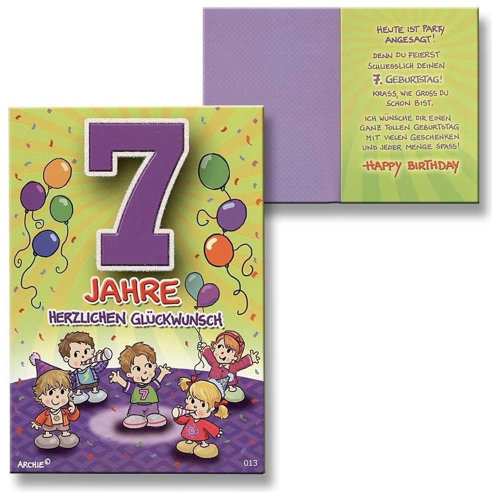 Archie Geburtstagskarte zum 50. Geburtstag Junge grün ... - Geburtstagskarte Schreiben