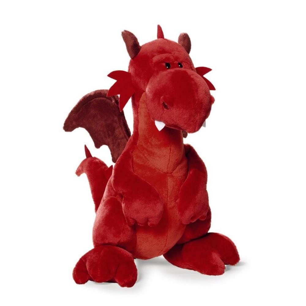 nici drache rot 20 cm stehend pl sch kuscheltier dragon ebay. Black Bedroom Furniture Sets. Home Design Ideas