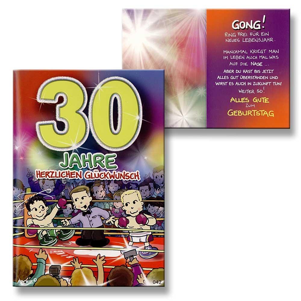 Archie geburtstagskarte zum 30 geburtstag junge m dchen for Geburtstagskarte 25 geburtstag