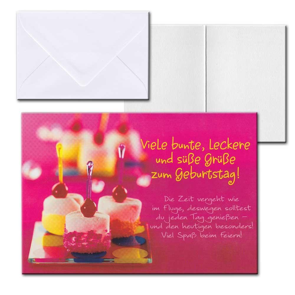 cartolini aufklappkarte karte spr che zitate briefumschlag geburtstag 17 5x12 cm ebay. Black Bedroom Furniture Sets. Home Design Ideas