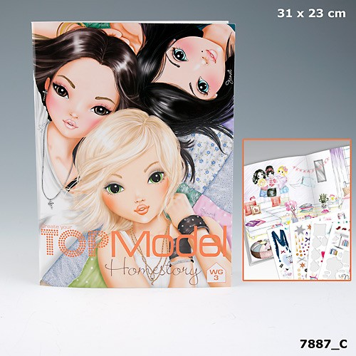 topmodel homestory malbuch wg 3 liv jenny janet auflage c. Black Bedroom Furniture Sets. Home Design Ideas