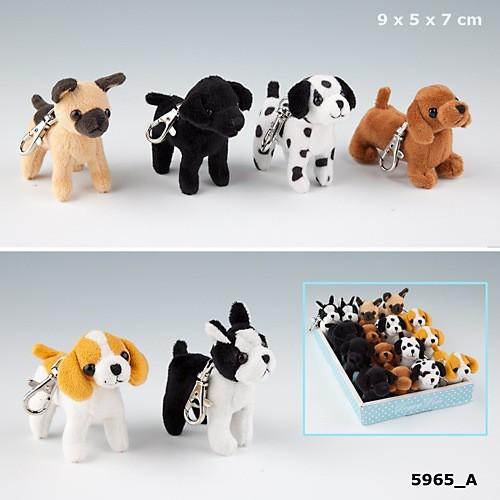 doggy love mini pl schhund hund labrador schl sselanh nger mit karabiner anh nge ebay. Black Bedroom Furniture Sets. Home Design Ideas
