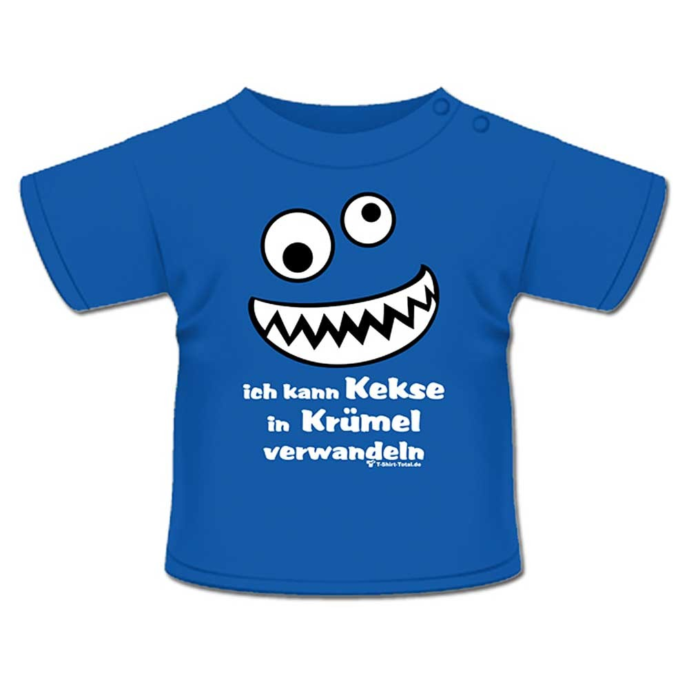 anna philip baby kind fun spruch t shirt royal blau keks. Black Bedroom Furniture Sets. Home Design Ideas