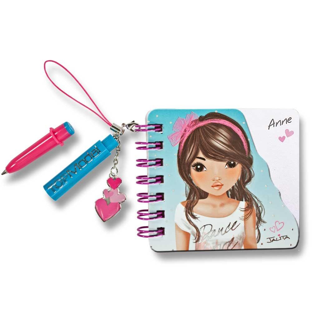 topmodel mini notizbuch mit kugelschreiber name anne ebay. Black Bedroom Furniture Sets. Home Design Ideas