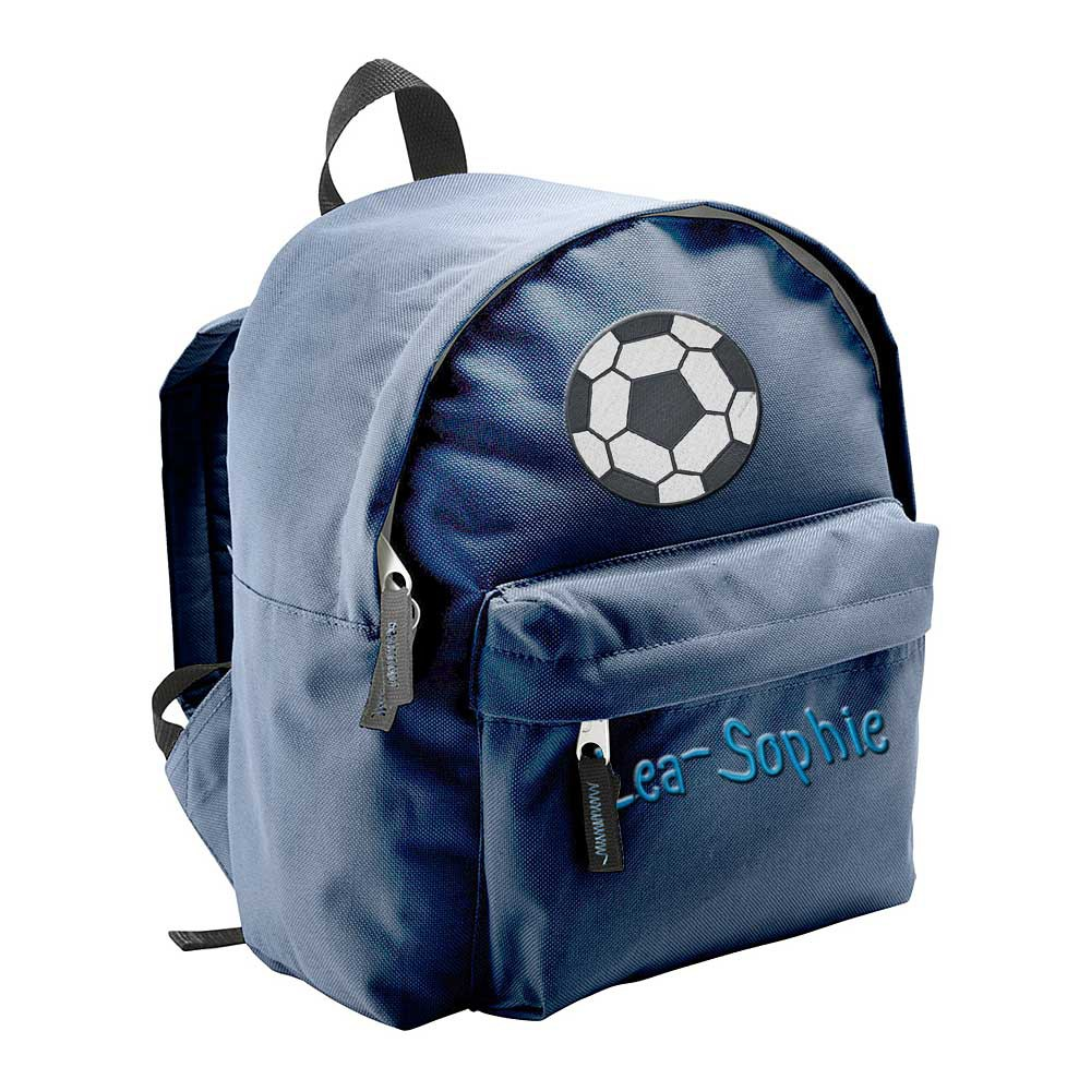 kindergartenrucksack kinder rucksack bestickt mit namen motiv einhorn feuerwehrm ebay. Black Bedroom Furniture Sets. Home Design Ideas
